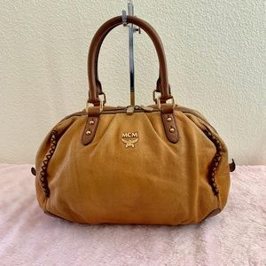 MCM Authentic Medium Shoulder Bag